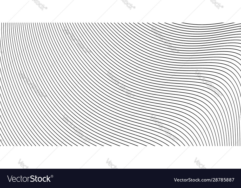 Curve wavy lines background or stripes grayscale