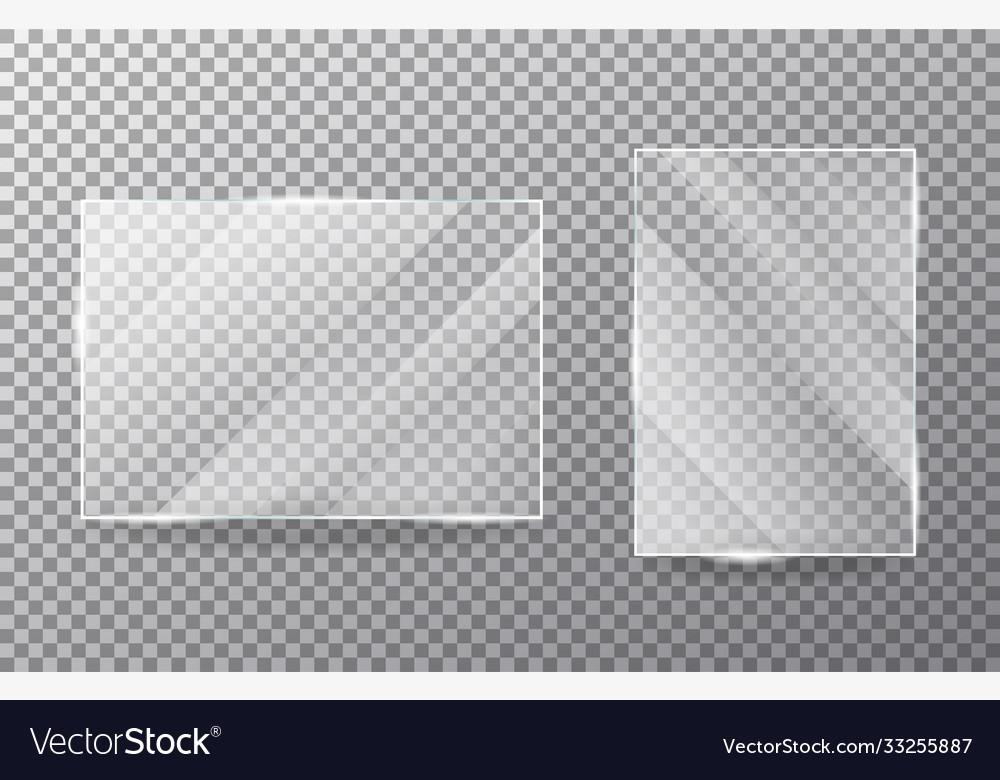 Glasses object on transparent background