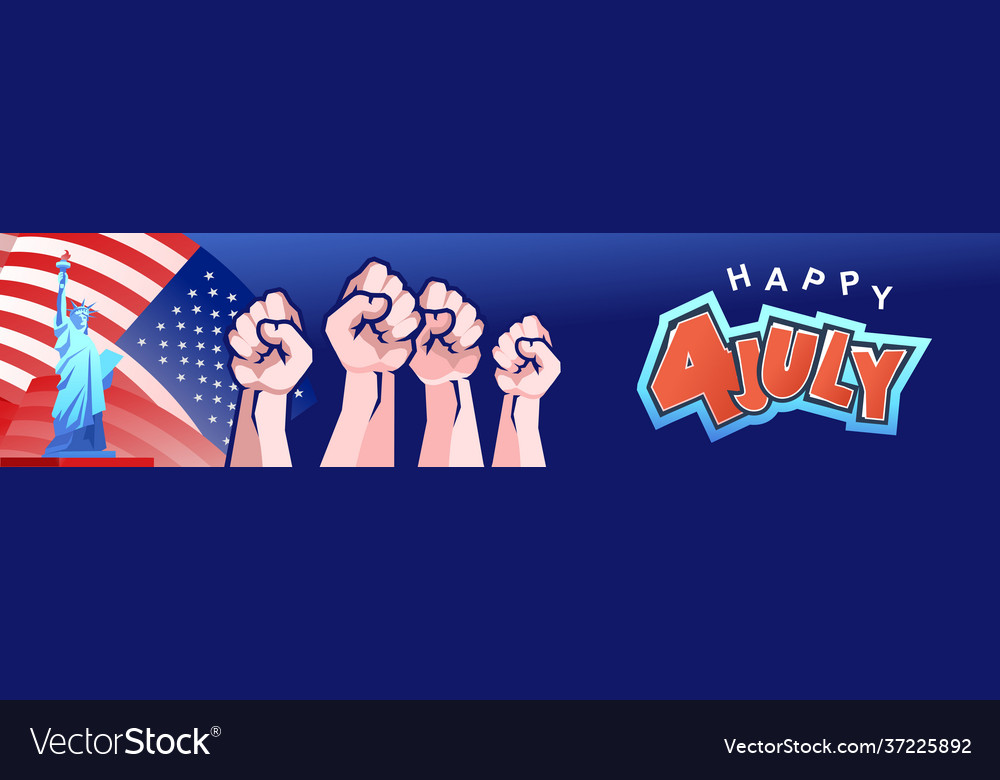 America independence day banner