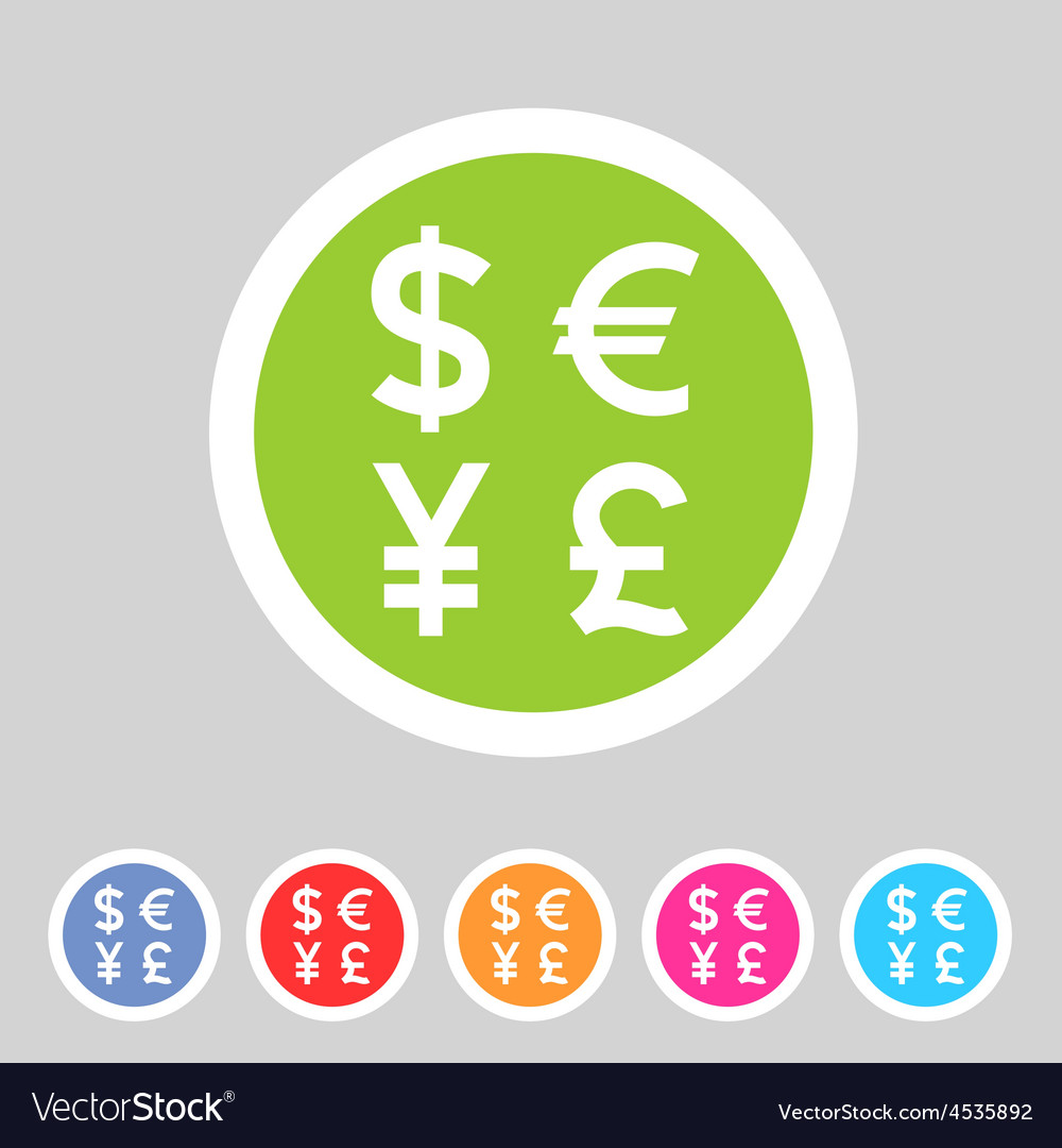 Currency Exchange Sign Icon Converter Symbol Money