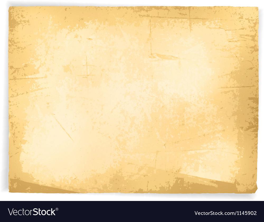 Vintage Grunge Paper vector image