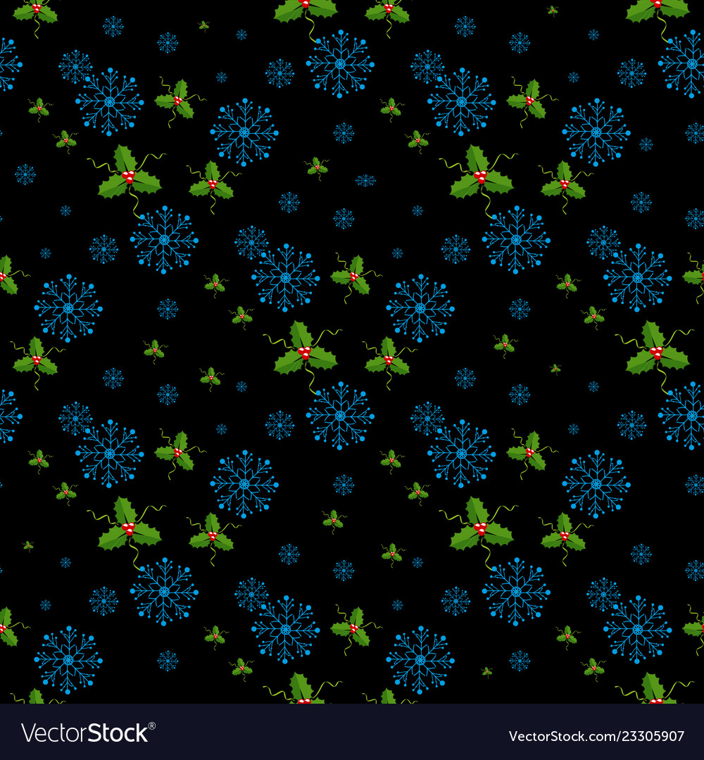 Snowflakes decorated with circles and dots