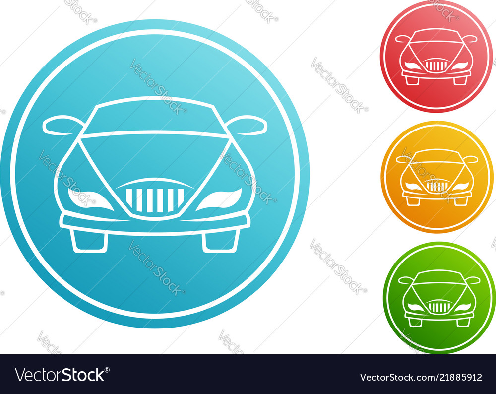 Car automobile circle set