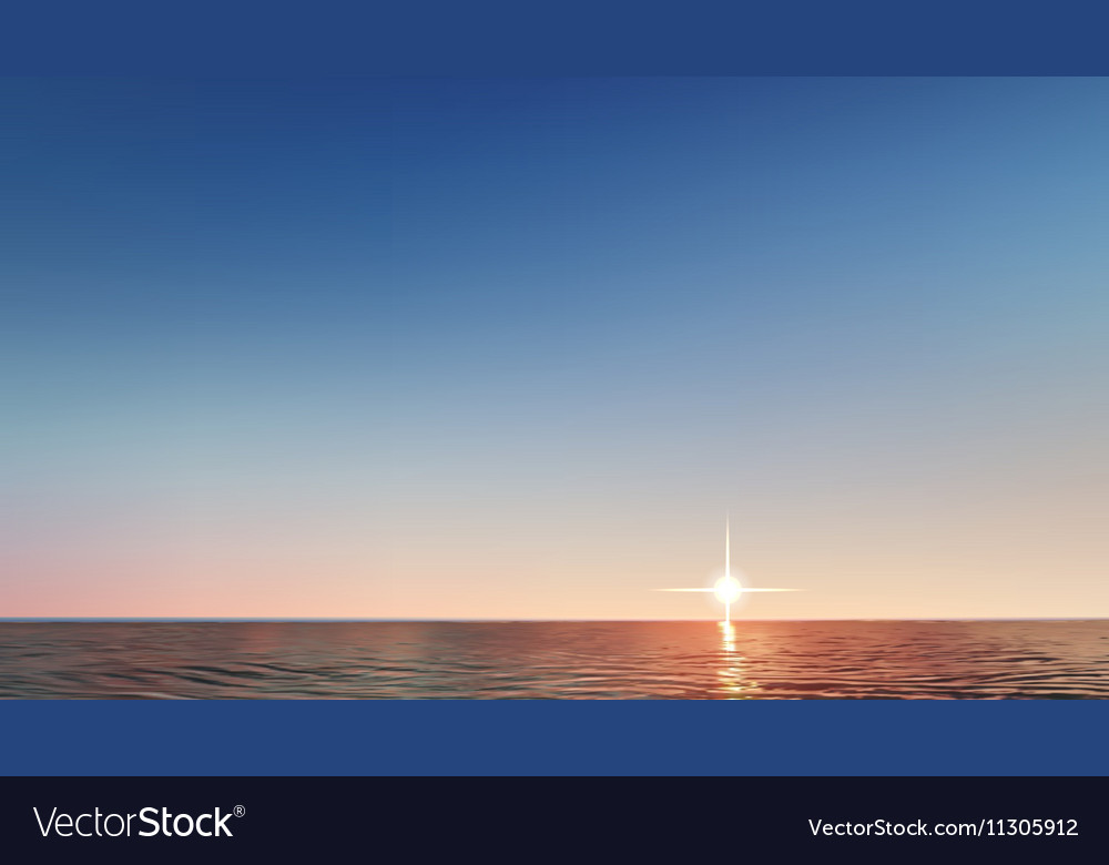 Ilustration abstract background with sea