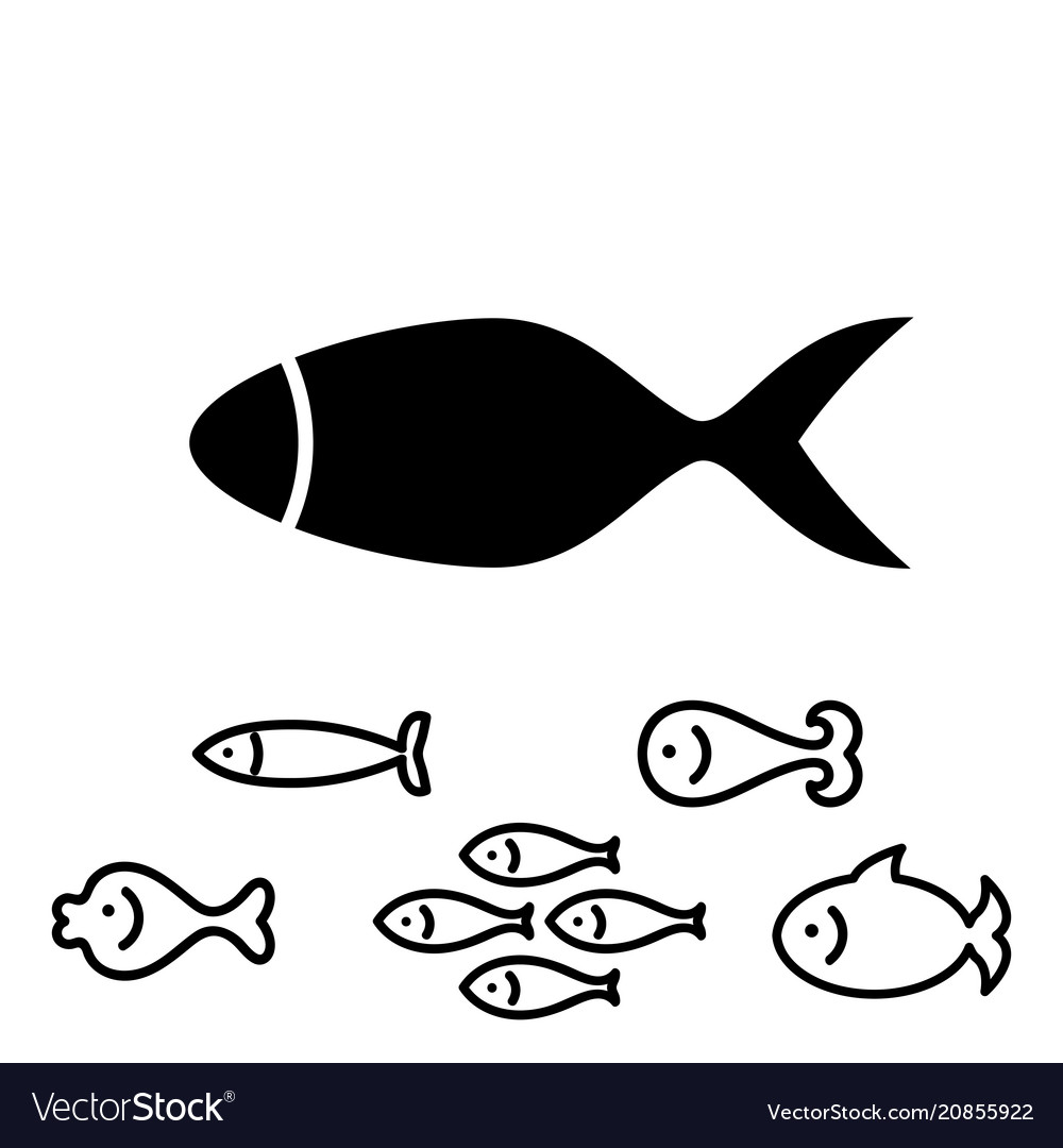 Fish icon or logo