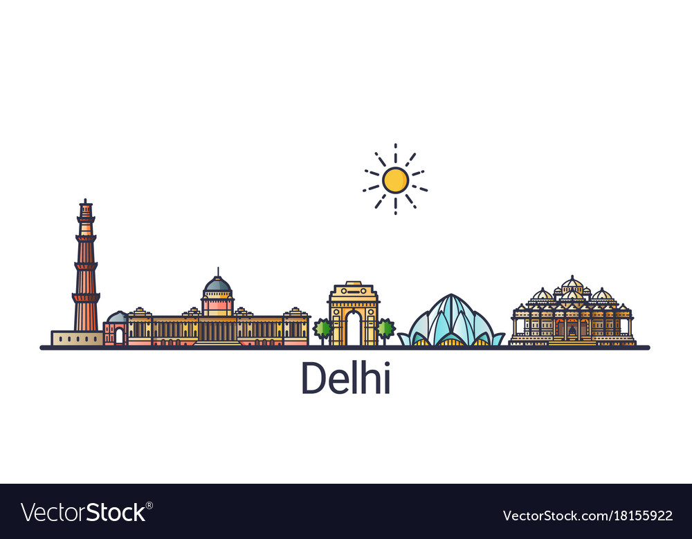 Flat line delhi banner