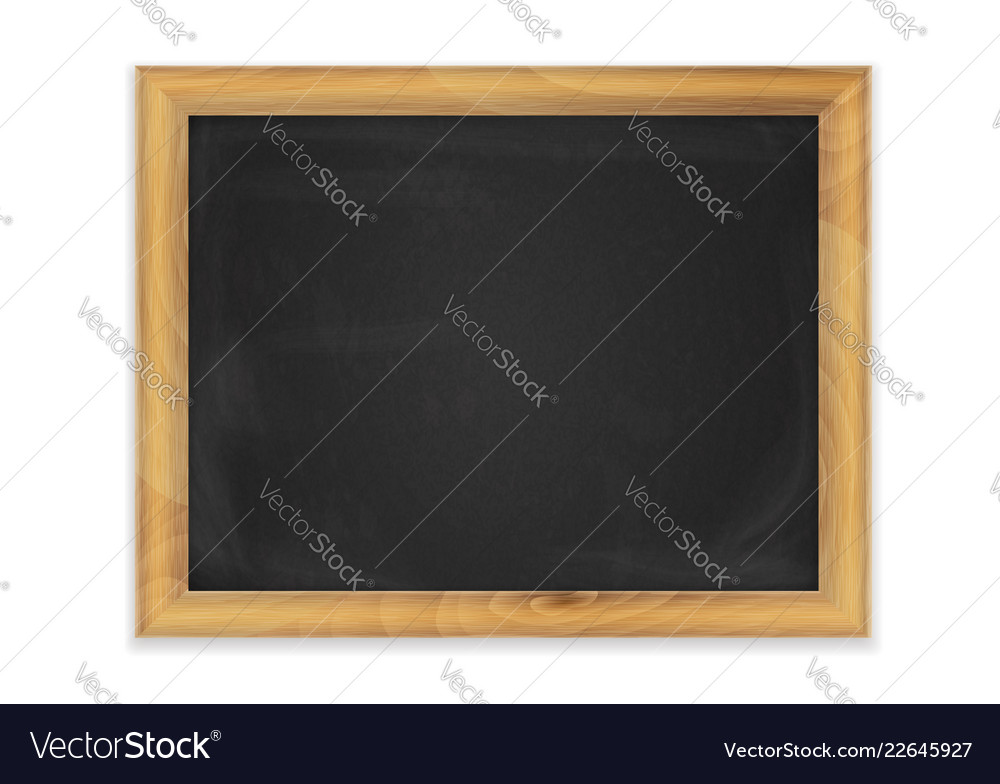 Blackboard background frame