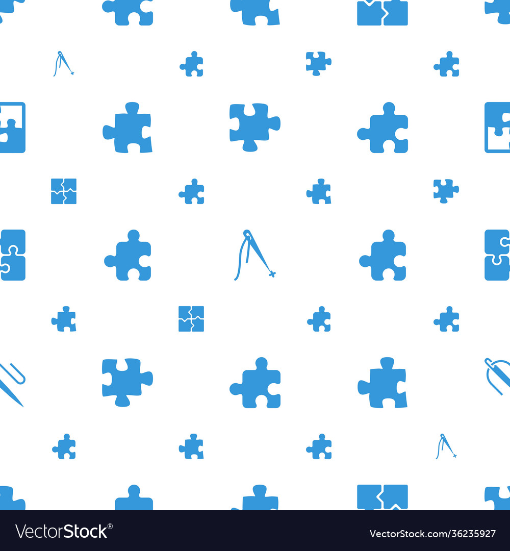 Join icons pattern seamless white background