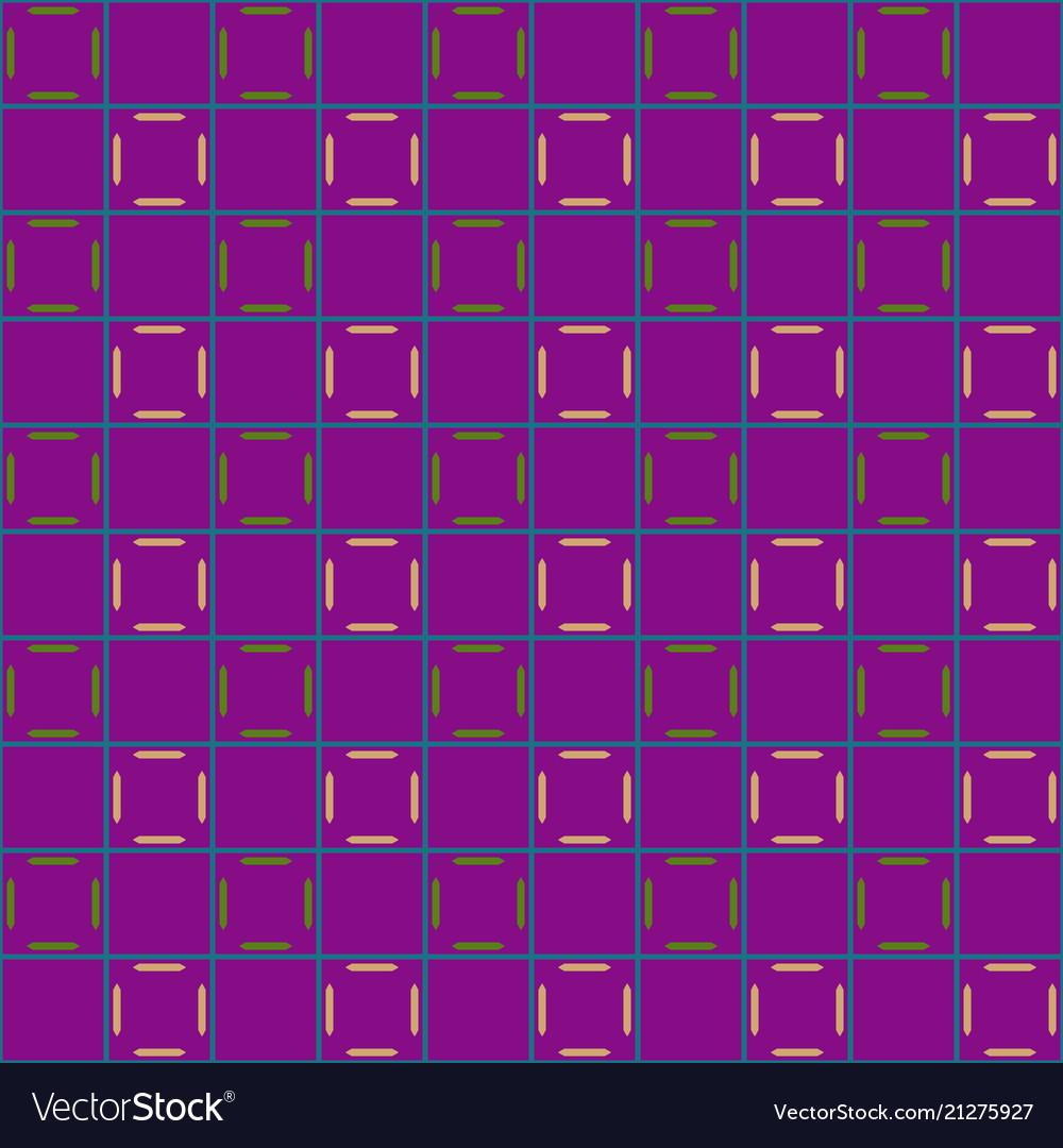 Lines in grid geometric seamless pattern 203