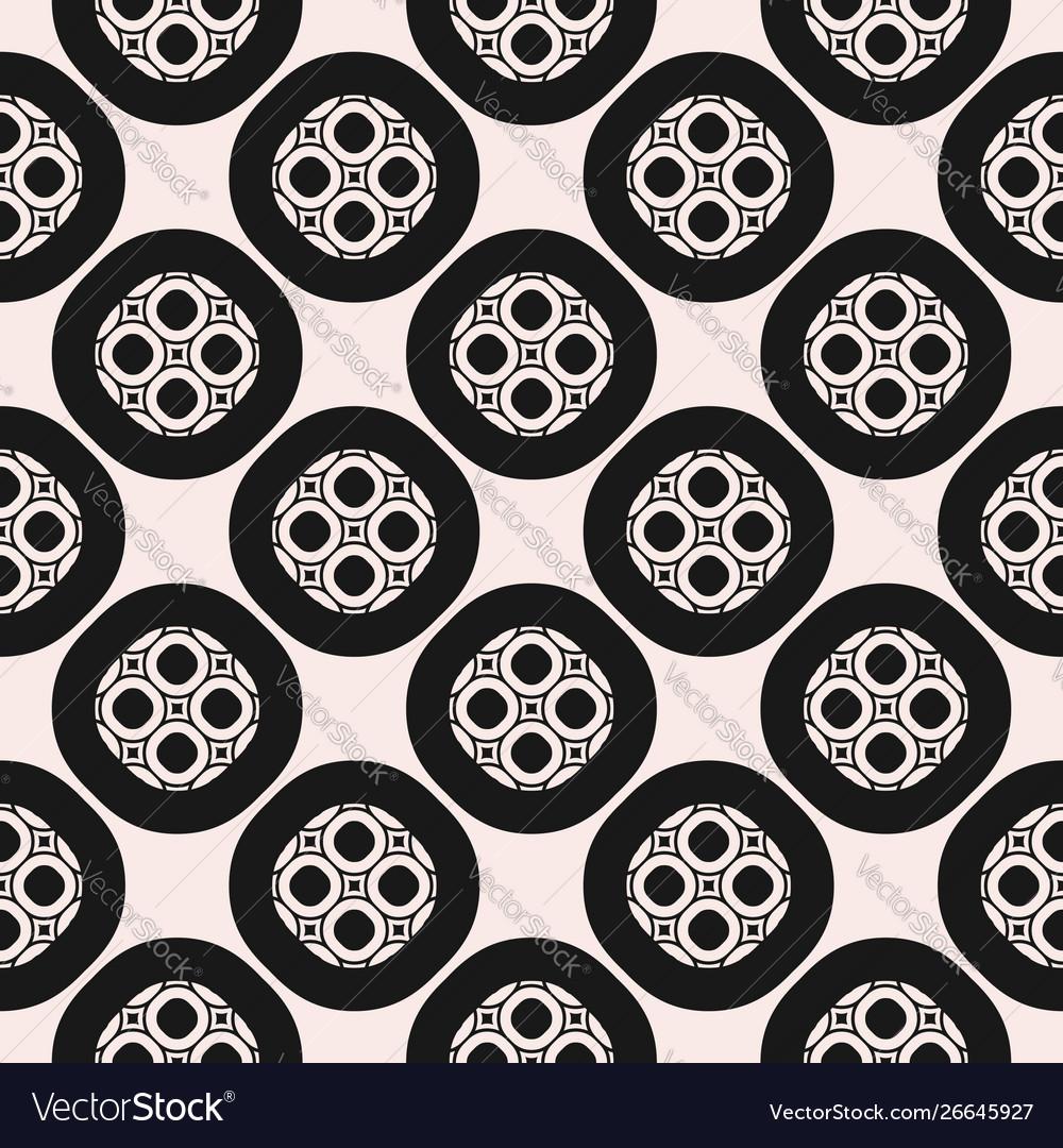 Monochrome ornamental seamless pattern texture