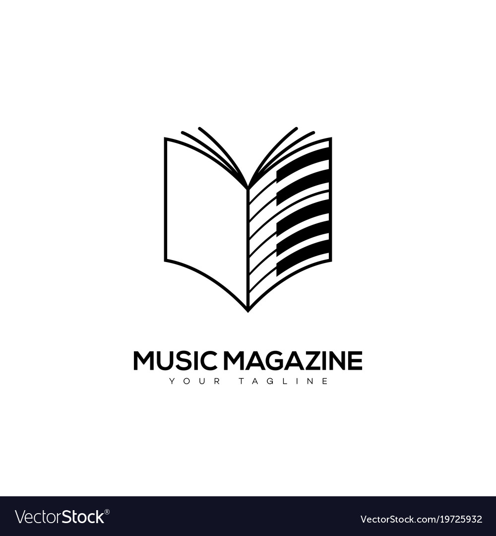 Music magazine logo