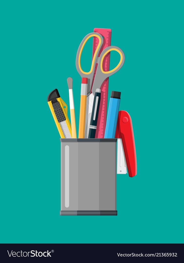 Pen holder office equipment