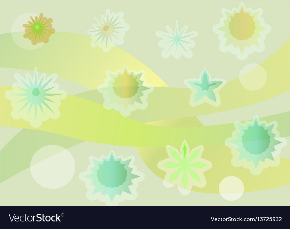 Spring background with fantasy uneven distributed