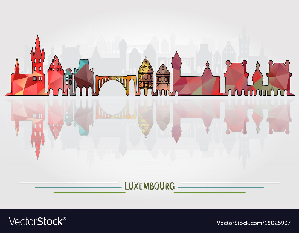 Luxembourg city background