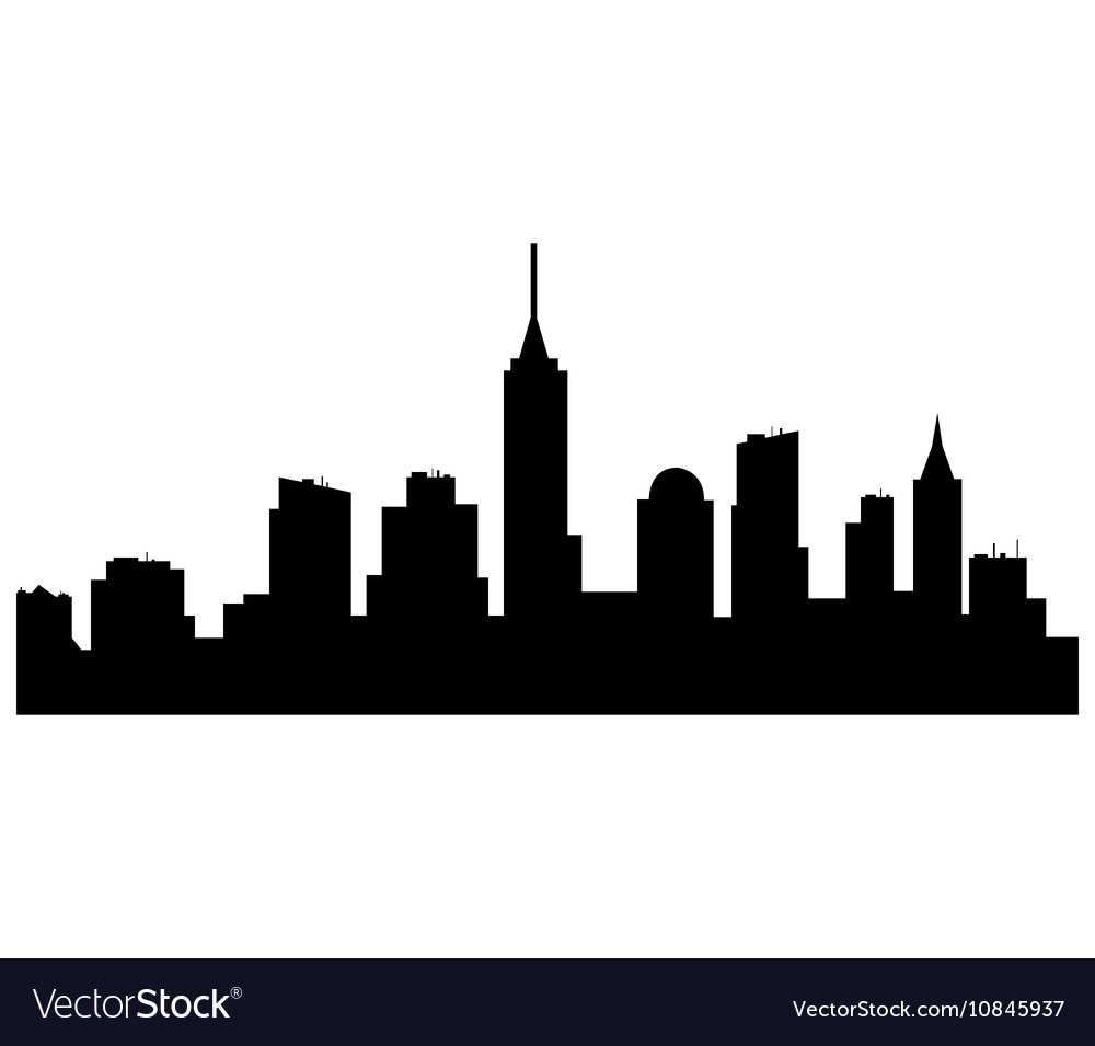 new york skyline royalty free vector image vectorstock rh vectorstock com skyline victory floor plan skyline victory floor plan
