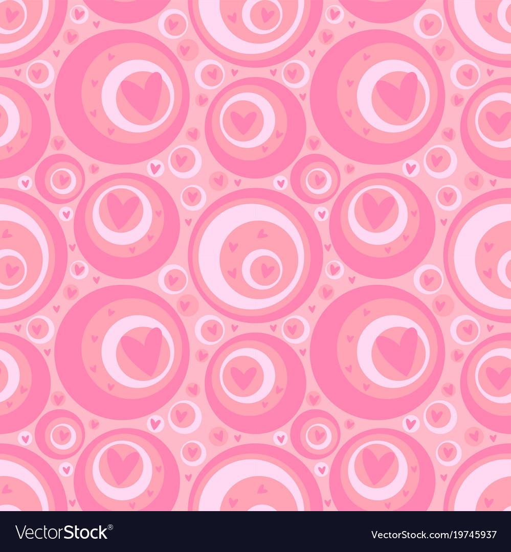 Seamless valentine pink background
