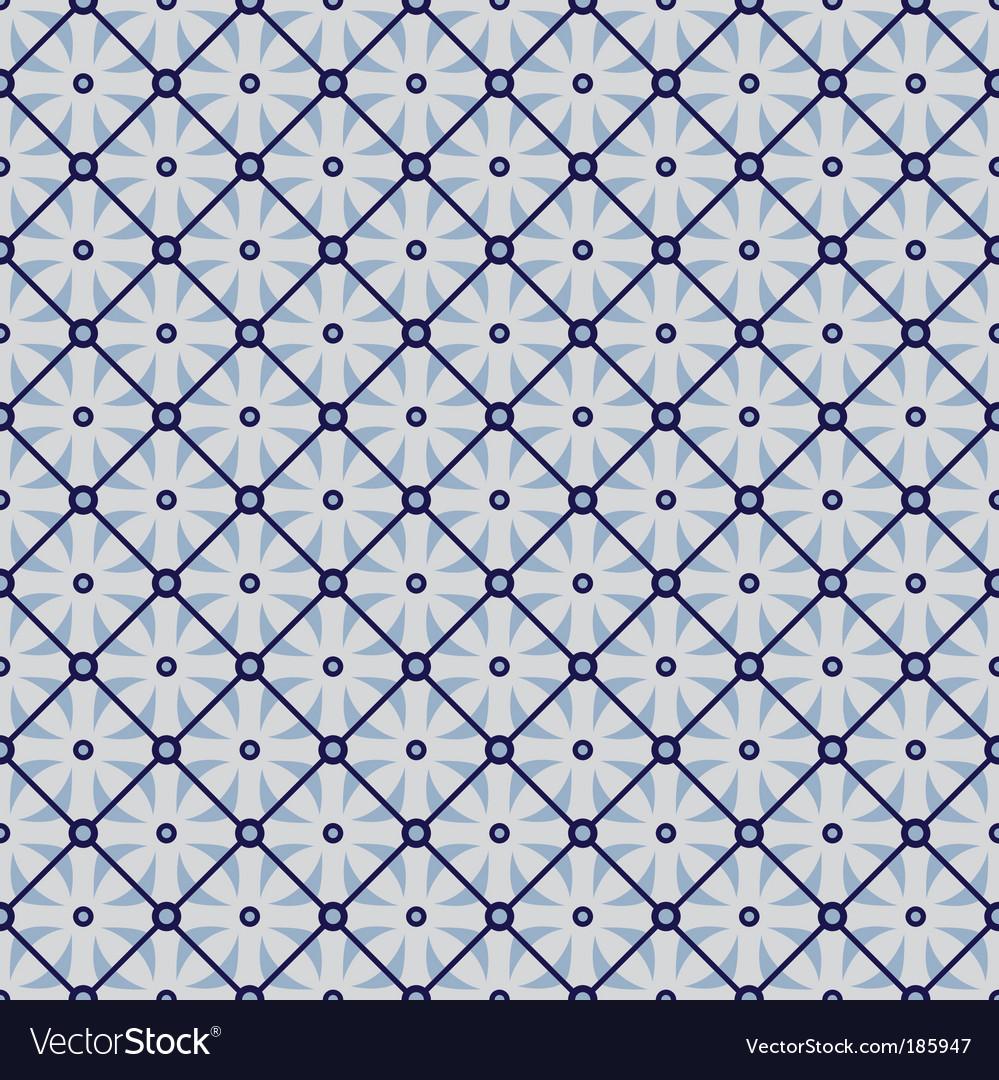 Geometric wallpaper pattern