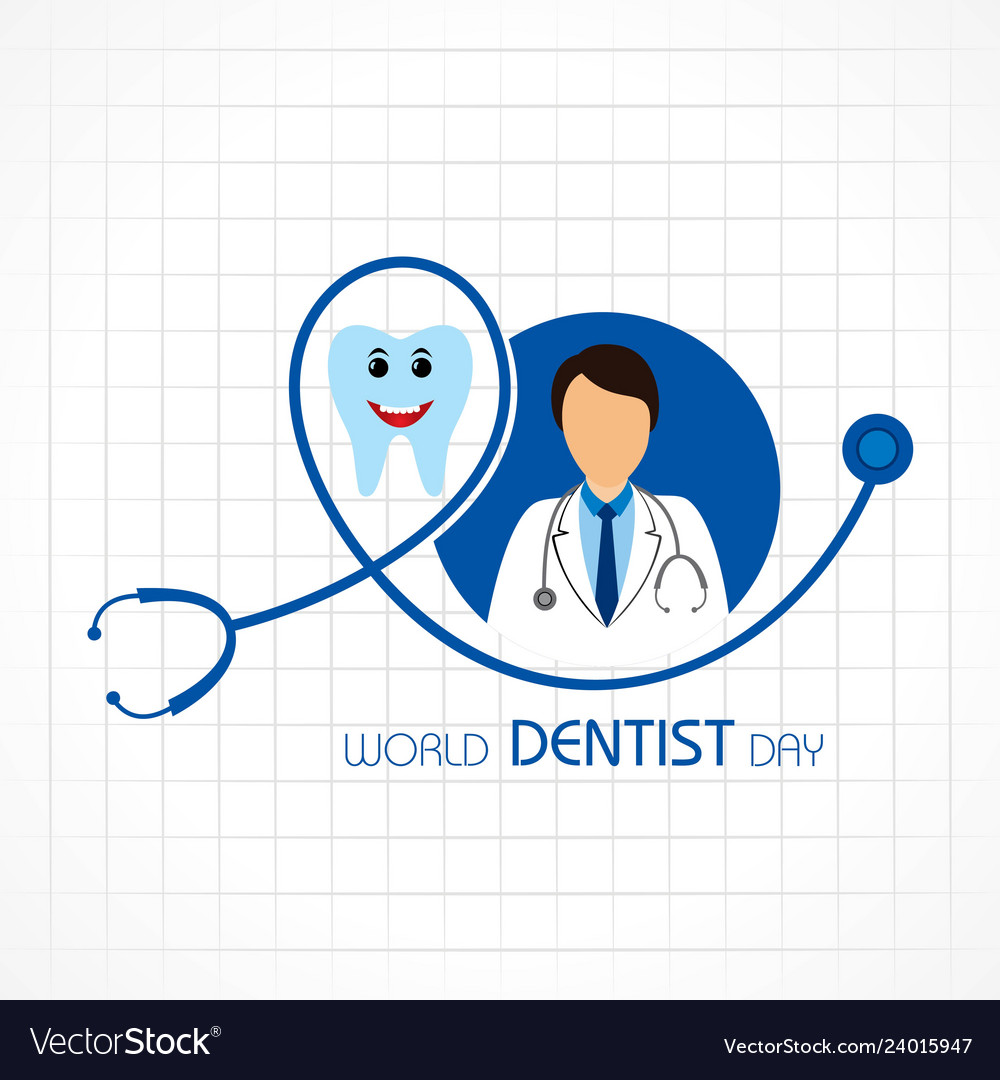 World dentist day design 6 march