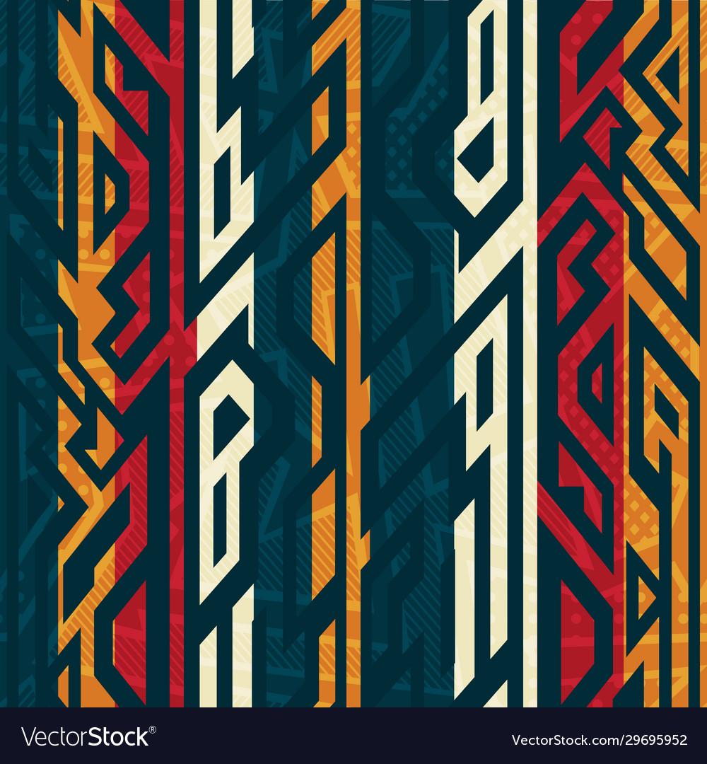 African geometric pattern