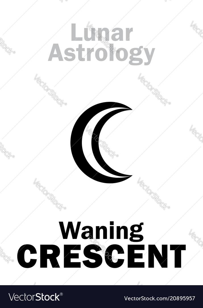 Astrology waning crescent moon