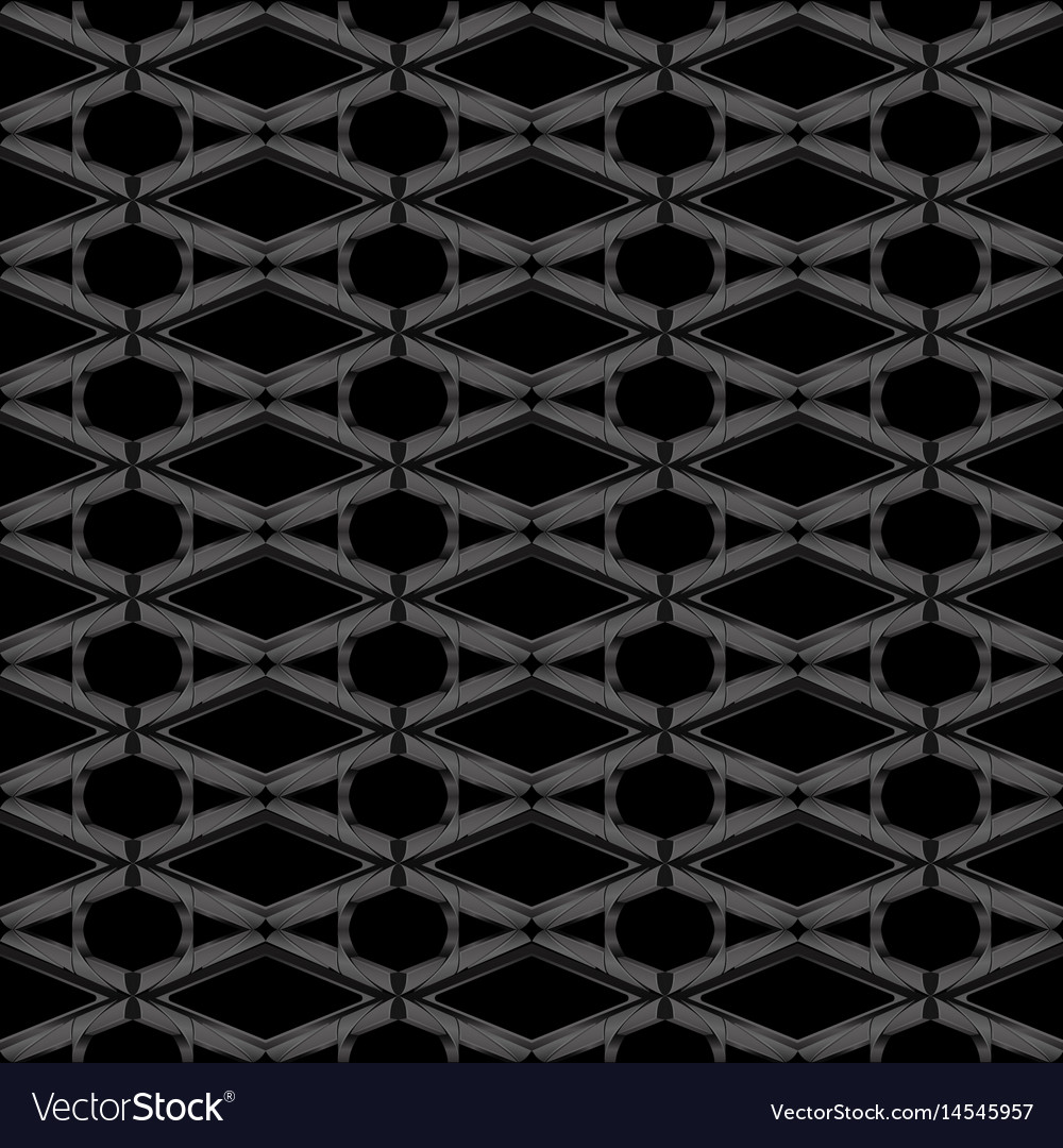 Black metal abstract background style vector image