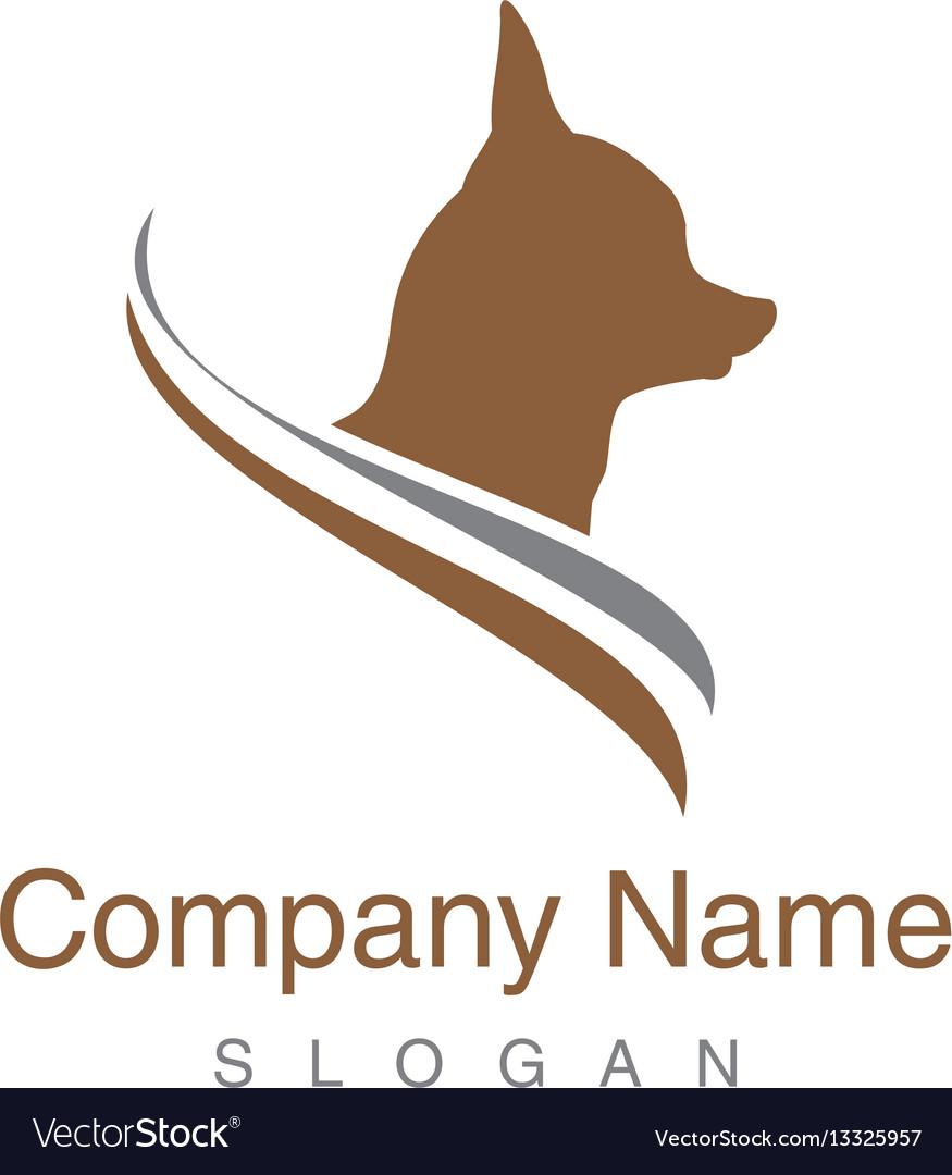 Chihuahua dog logo