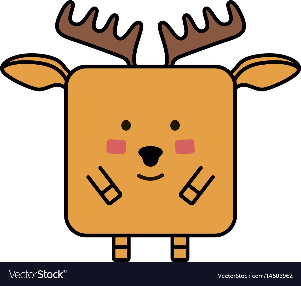 Deer elk emoji