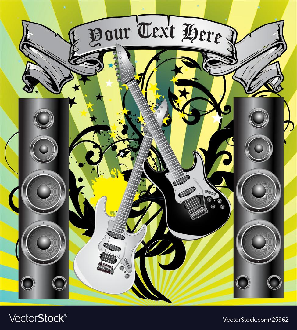 Loudspeaker grunge background