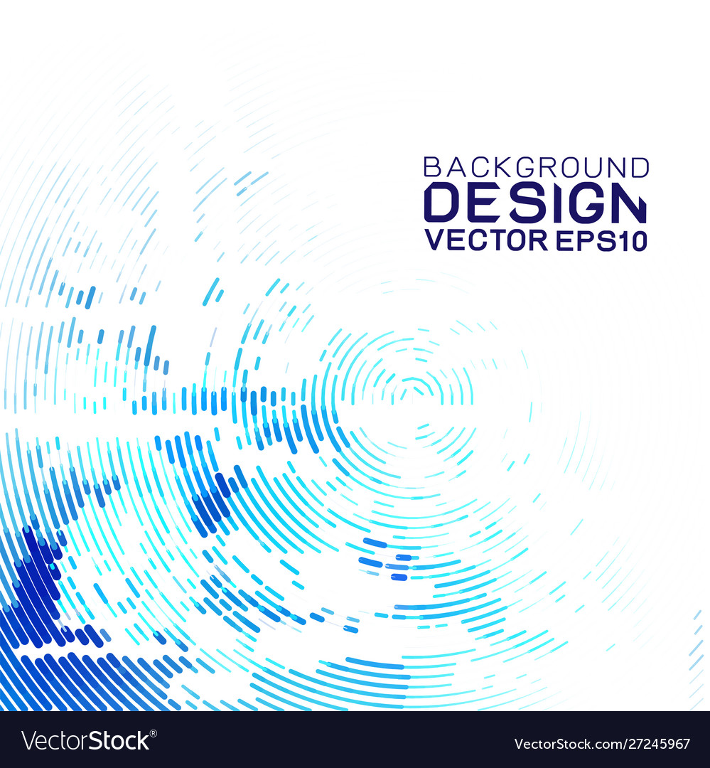 Abstract futuristic data technology concept