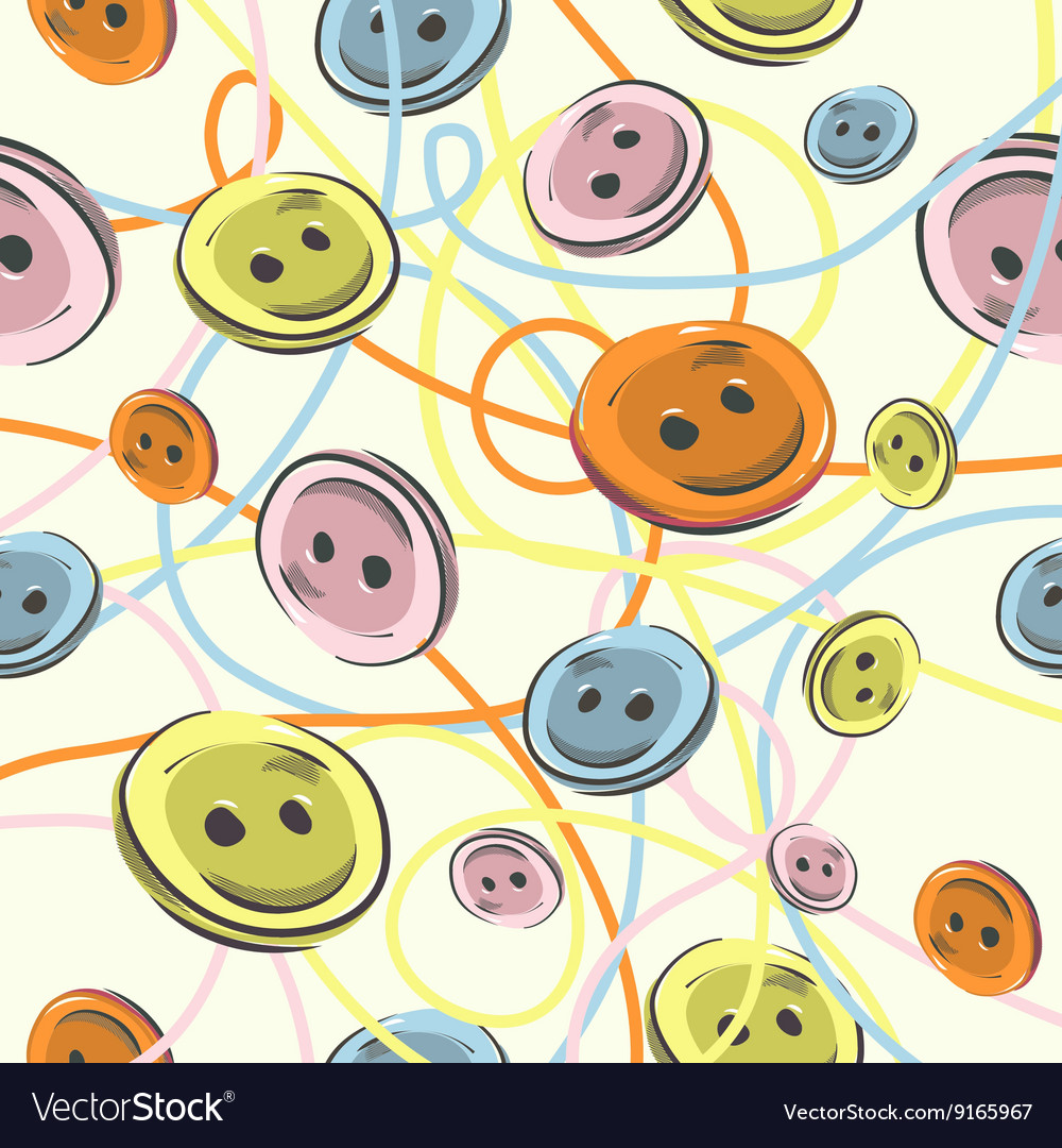 Buttons Background vector image