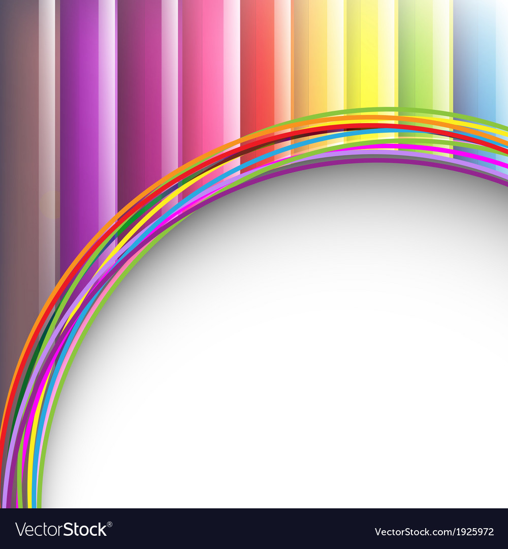 Colorful Background With Paper vector image