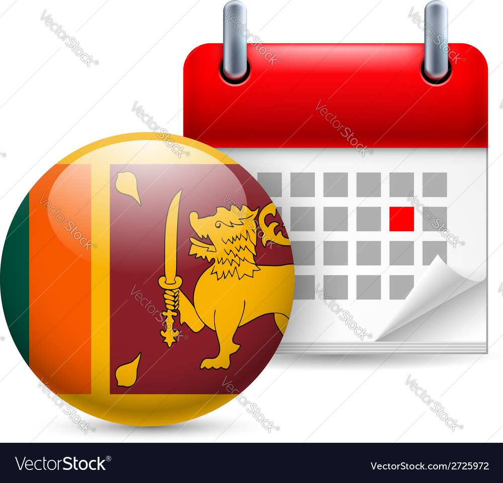 Icon of National Day in Sri Lanka
