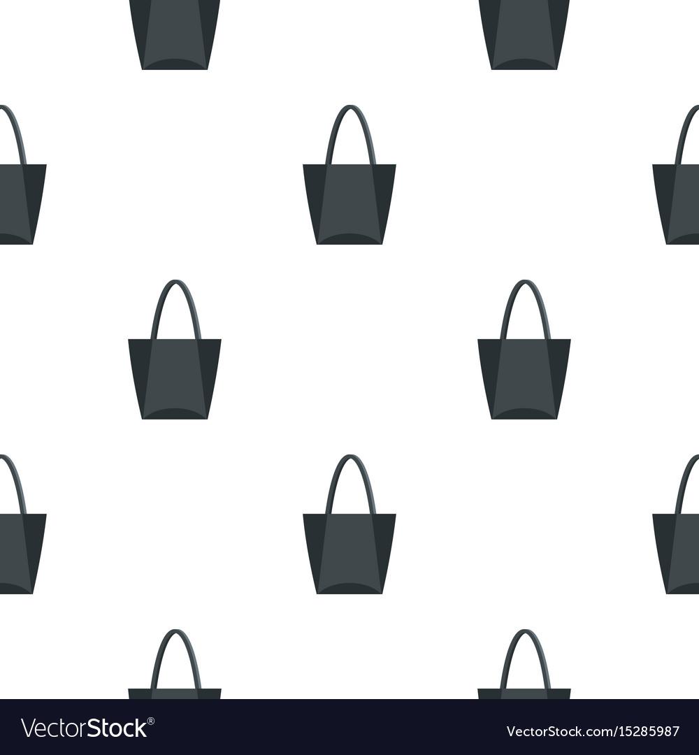 Big bag pattern seamless vector image