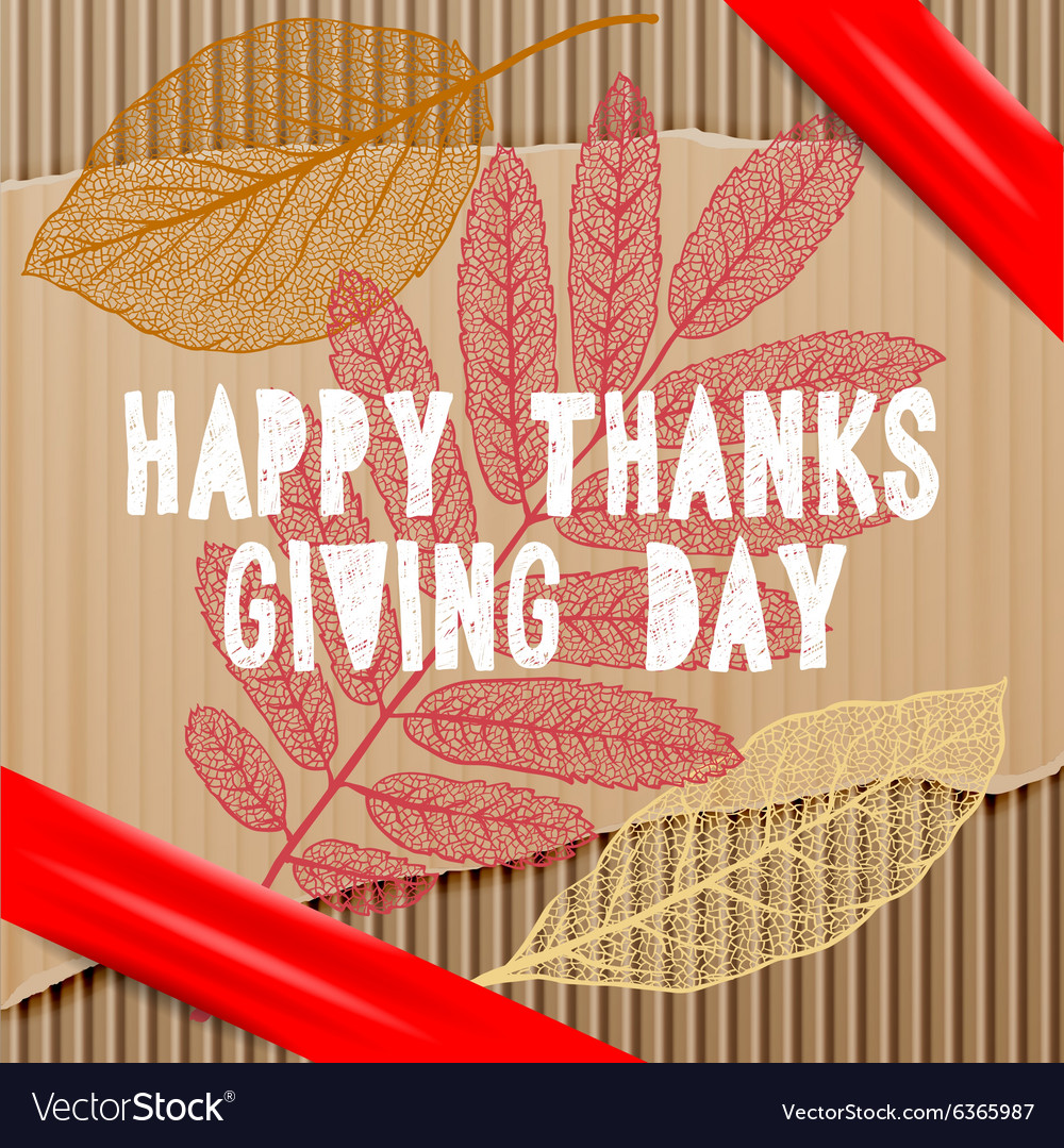 Happy thanksgiving day autumn holiday background