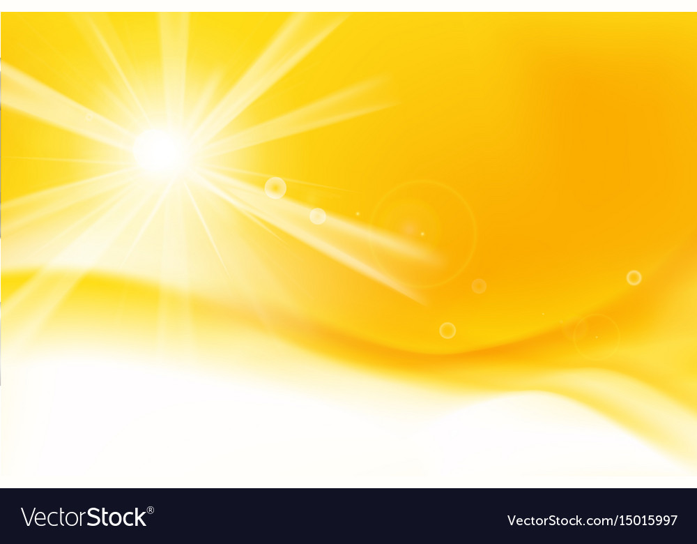 Abstract yellow and orange background with