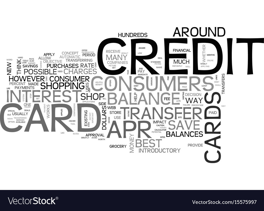 Best credit card balance transfer rate it pays to