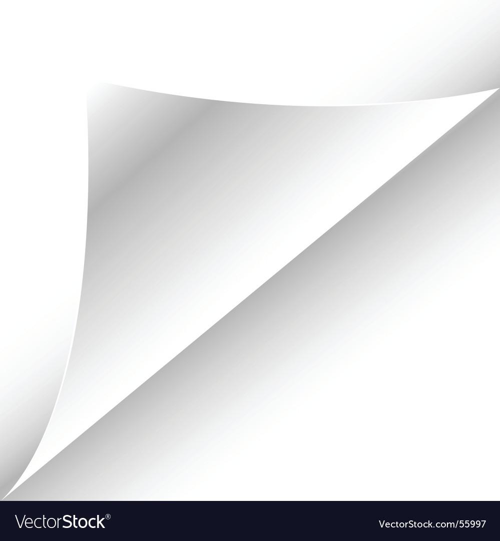 Fold vector image