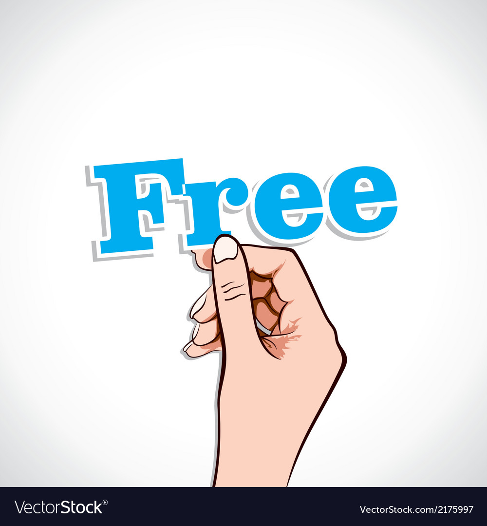 Free Word In Hand
