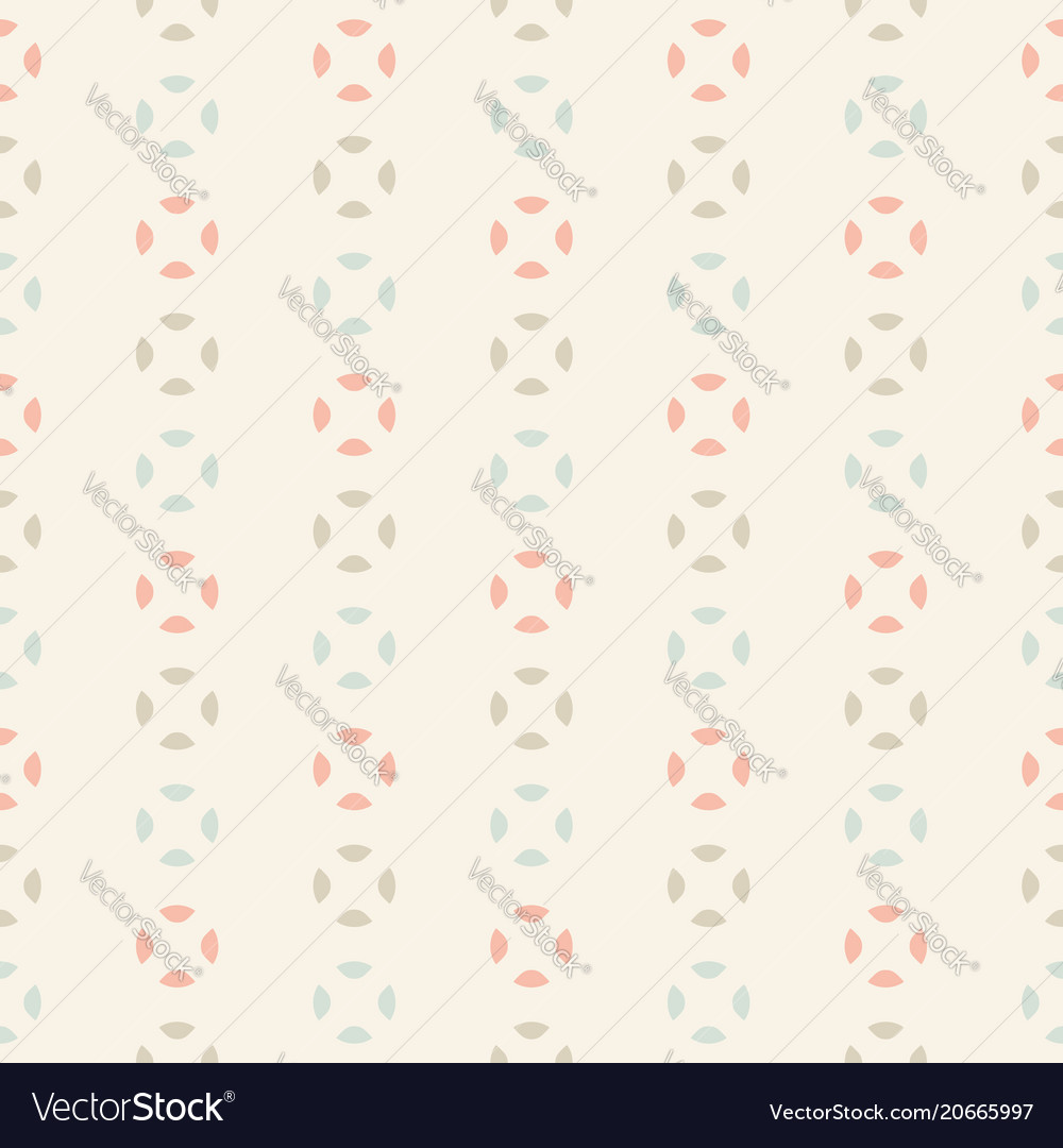 Vintage seamless pattern abstract retro style