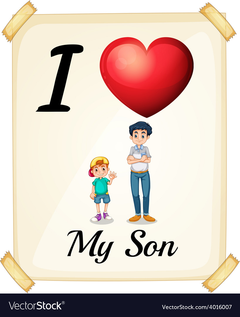 Son and love wife my Finding lasting