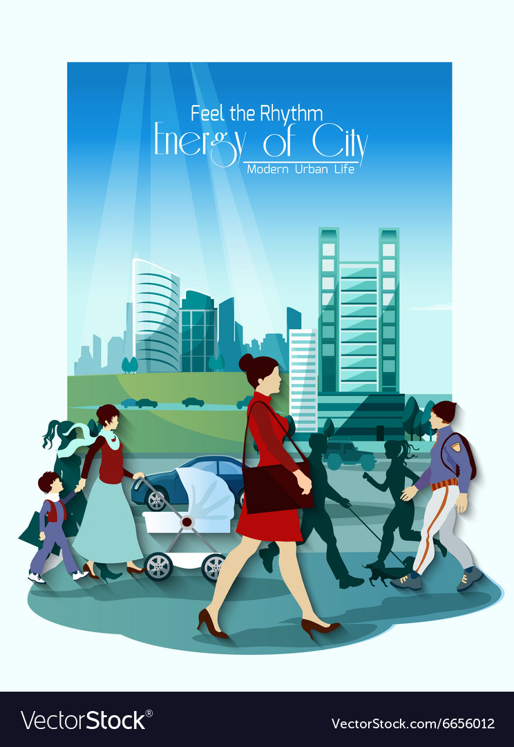 City People Poster