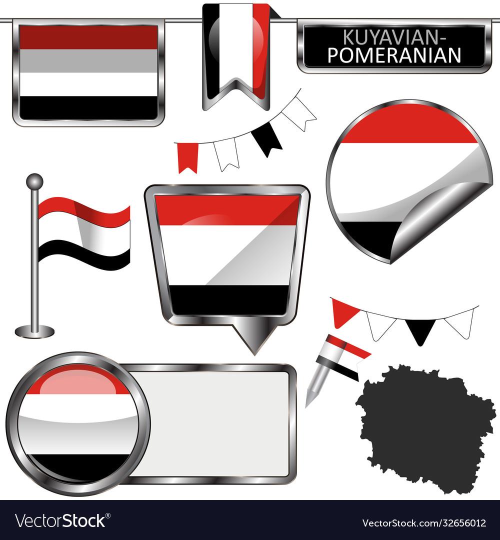 Flag kuyavian pomeranian