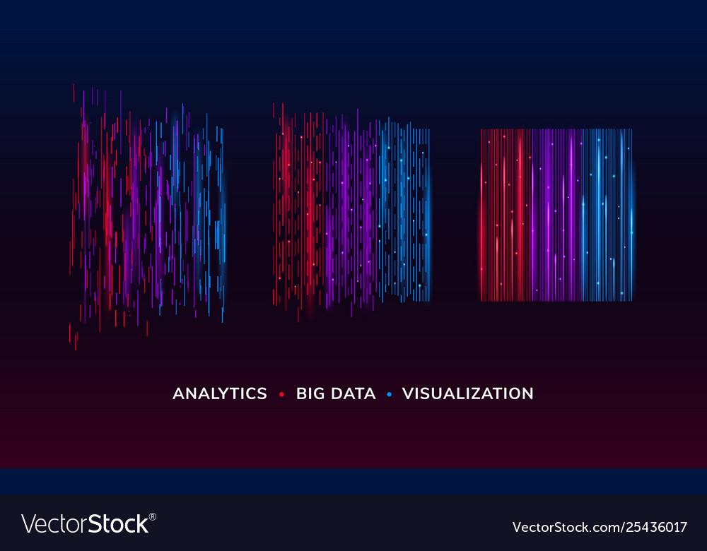 Big data visualization or analysis background