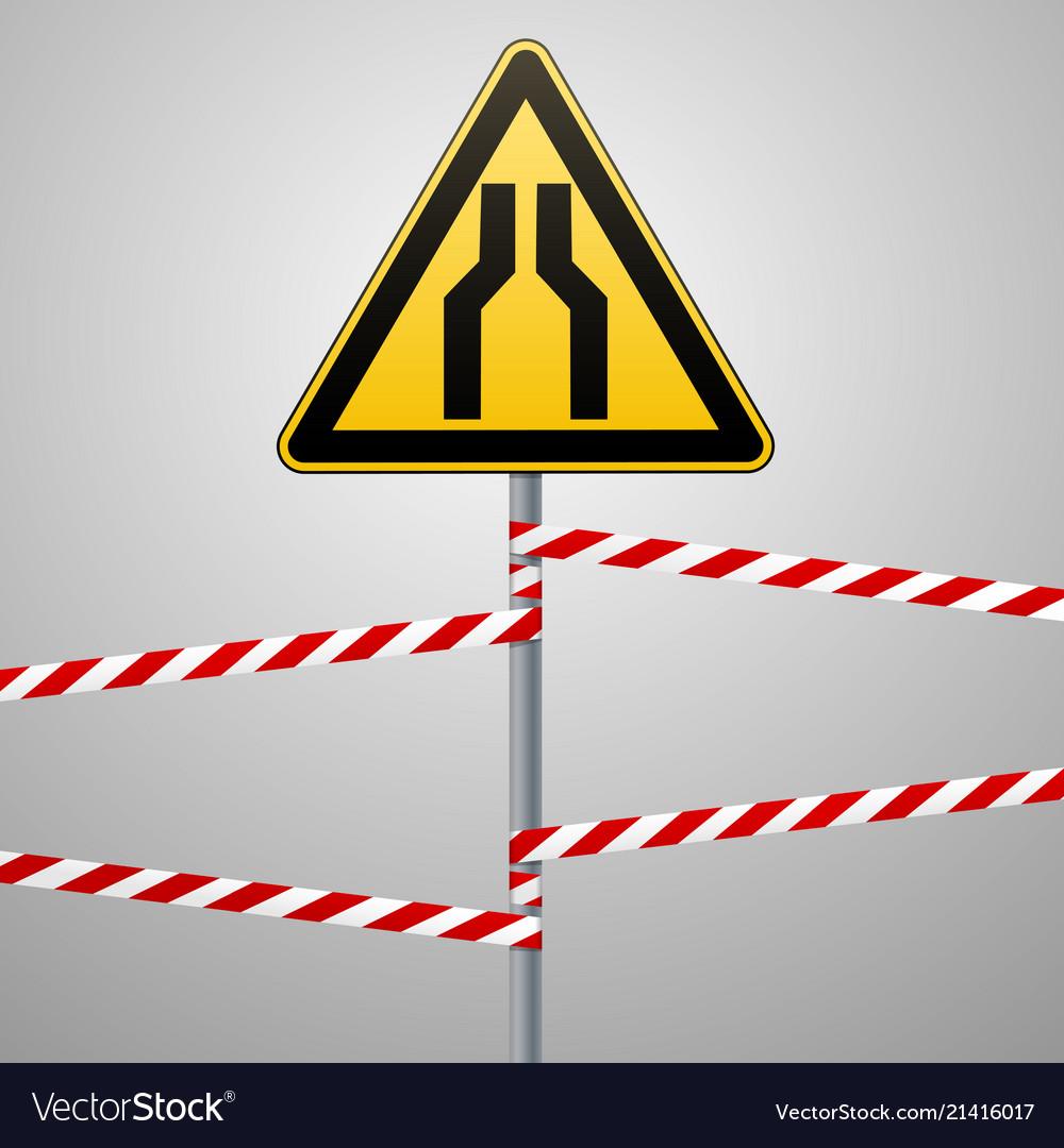 Carefully narrow the passage safety precautions