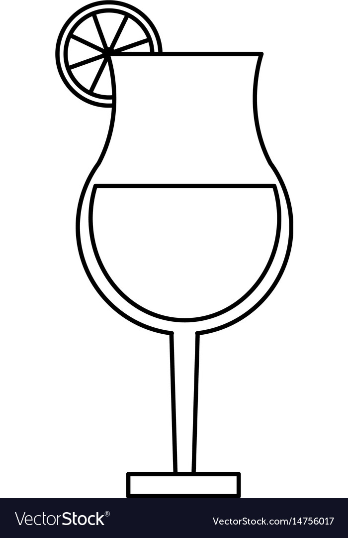 Cocktail in garnished glass icon image