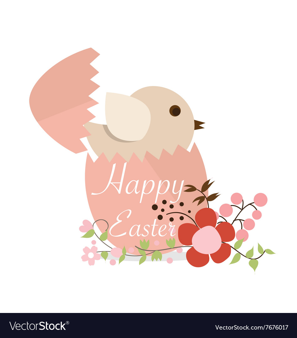 Happy easter cards with Easter eggs