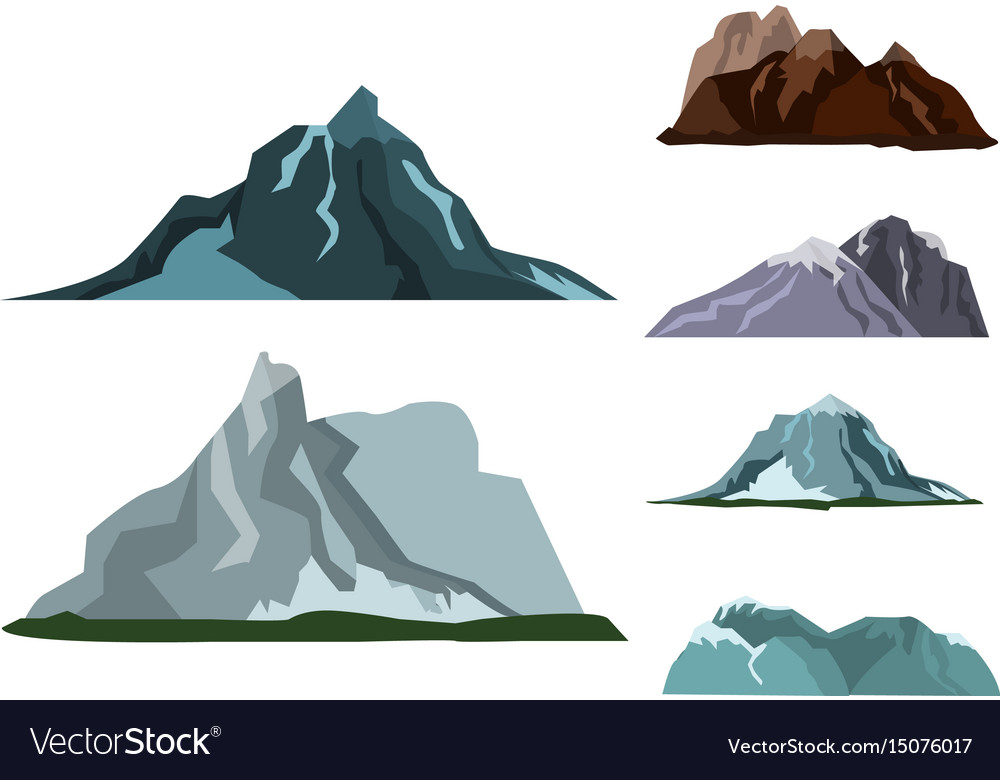 Mountain landscape snow nature travel hiking peak