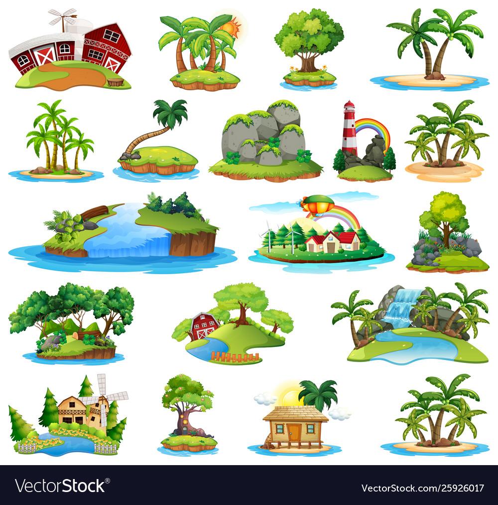 Set island nature