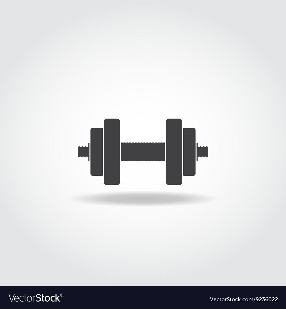 Dumbbells vector image