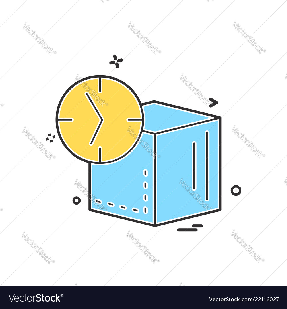 Cube icon design